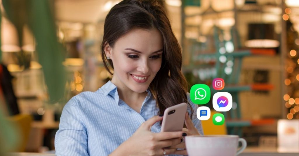 how to use messaging for business?